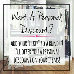 Personal Bundle Discount