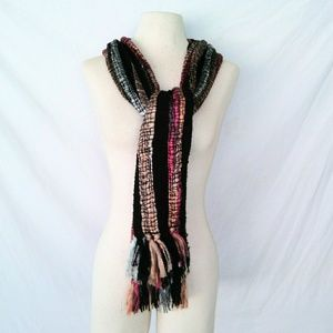 Vintage Accessories - FIBER Arts Woven Scarf