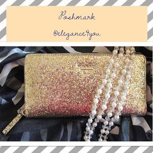 kate spade Handbags - KATE SPADE Sparkle Wallet!