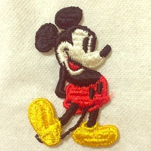 "Disney Accessories - Vintage 2"" Mickey Mouse patch"