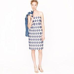 J. Crew Dresses & Skirts - J.Crew Embroidered Strapless Dress