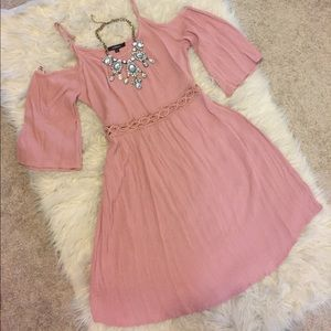Ambience dusty rose dress