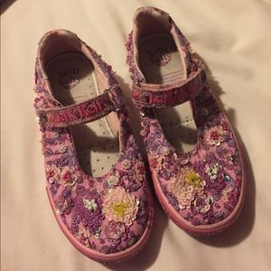 Lelli Kelly Kids Other - Girls pink tennis shoes
