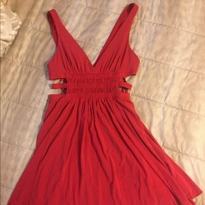 BF Sale Bcbg Cutout Dress in Pink Size Small