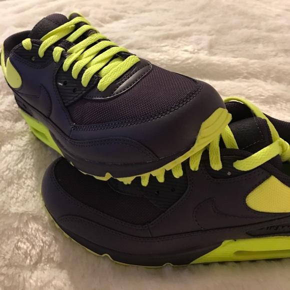 Purple Yellow Neon Nike Basketball Shoes Basketball Shoes Nike  1cb8ee1e5