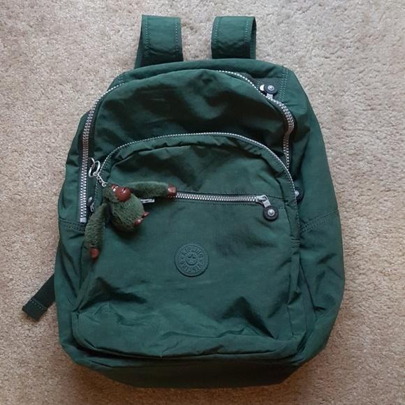12cc3458351 Kipling Handbags - Kipling SEOUL Large Laptop Backpack - Green