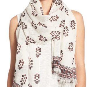 Madewell Vinefloral scarf