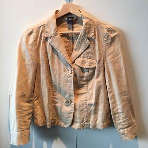 Gap tan jacket