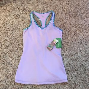 Lilly Pulitzer Luxletic Tank Top Size Small