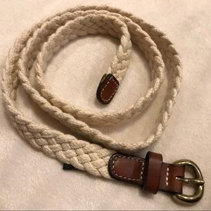 J. Crew Braided Summer Belt