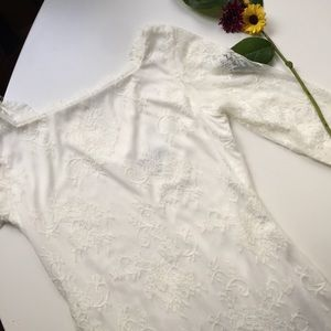 Onyx Dresses & Skirts - White Lace Sexy Bridal Dress