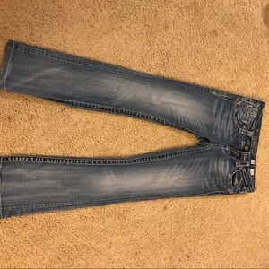 Miss Me Jeans - Size 25 boot cut miss me jean.Length 36 1/2 inches