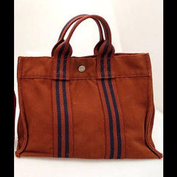 57e6be59dccf Hermes Handbags - Authentic HERMES Fourre Tout PM