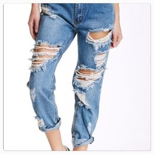 One teaspoon awesome baggie jeans in size 27
