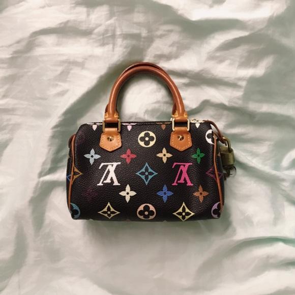 926e736ccff3 Louis Vuitton Handbags - RARE Louis Vuitton Takashi Murakami Mini Speedy