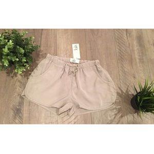 Pants - Lola nude track shorts Small NWT