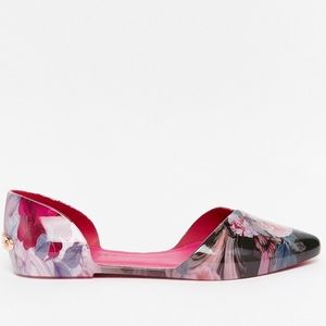 6eee235c9 Ted Baker London Shoes - EUC Ted baker Rikyu floral d orsay flat