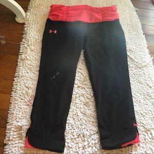Under Armor Capri workout pants