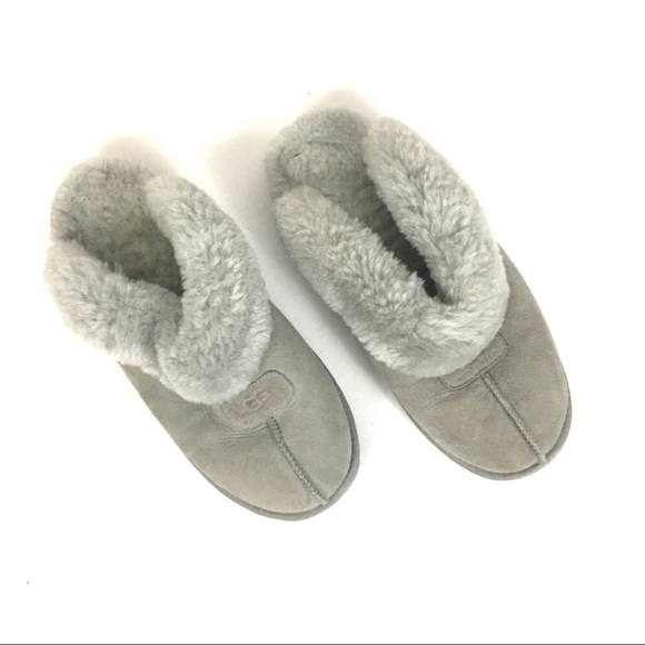 36493dbe70c Ugg coquette light grey slippers
