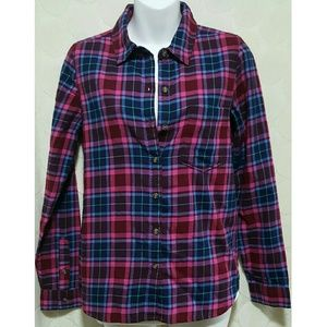 New Perfect Realized Flannel Button Down Shirt