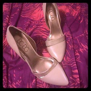 BCBG Shoes - 🎊BCBG Paris Nude high heels 👠 size 7.5