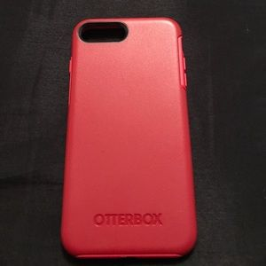 OtterBox Other - Otterbox Red. iPhone 7 plus