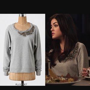 Ella Moss Embellished Sweatshirt