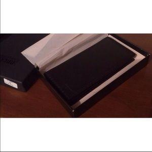 Gianfranco Ferre Other - NIB! Gianfranco Ferre Black Leather Wallet