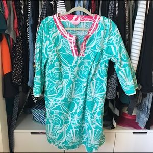 lilly beach coverup! ☀️