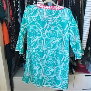 Lilly Pulitzer Swim - lilly beach coverup! ☀️