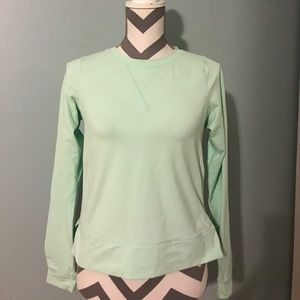Lululemon Mint Green Long Sleeve Top
