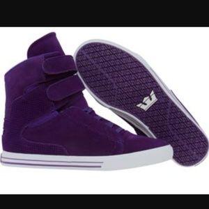Supra Other - Supra Size 11 purple suede tk society  dead stock