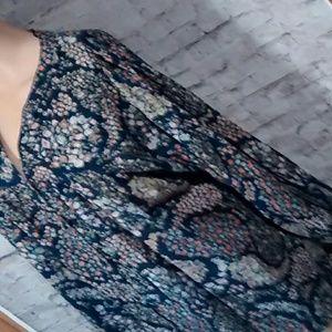 H&M cotton blouse, size 14.