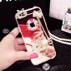 Accessories - iPhone 6/6S plus/7/7plus/5 HelloKitty mirror case