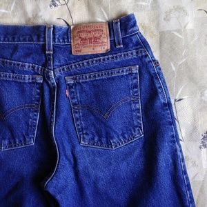 Levi's Vintage 550 High Waisted Rise Mom Jeans