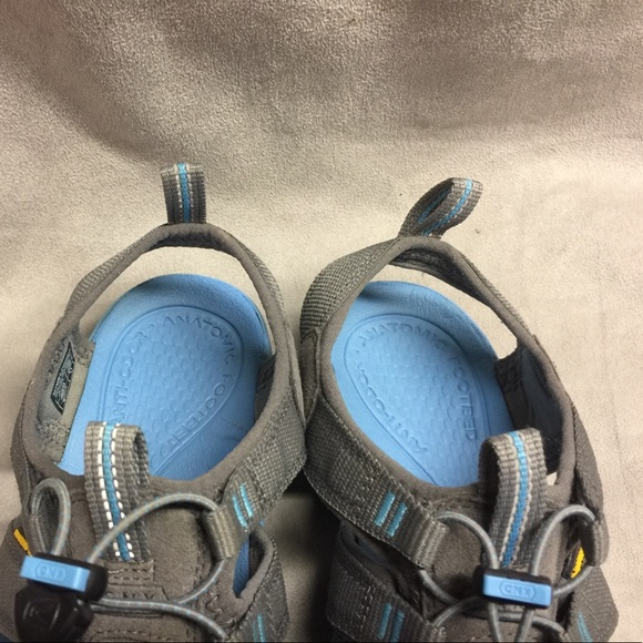 Offering the comfortable fit of sneakers but with lots more ventilation, the KEEN Moxie sandals are the perfect compromise for hot-weather outdoor adventures. Available at REI, % Satisfaction Guaranteed.