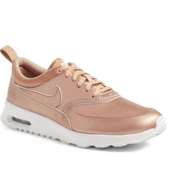 nike nike air max thea se rose gold bronze from 39 s. Black Bedroom Furniture Sets. Home Design Ideas