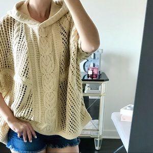 525 America Sweaters - 525 America Mesh Poncho
