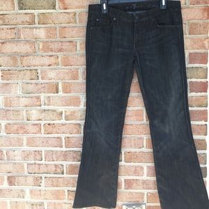 7 For All Mankind Denim - 7 for all Mankind 'A' pocket flare jeans Size 30