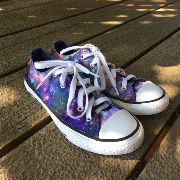 f8b840c23e0 Converse Other - Girls Galaxy Low Top Converse All Star Youth 3