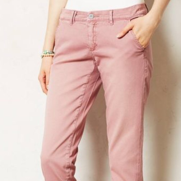 a2e5c0b7d92 Anthropologie Pants - Anthropologie Pilcro Hyphen Chino Dusty Rose