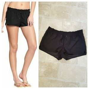 Old Navy Black Swim Cover Shorts