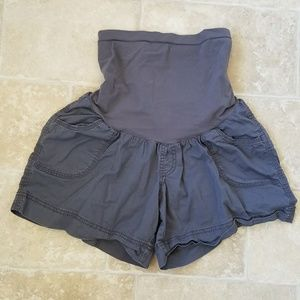 Motherhood Maternity Grey Shorts