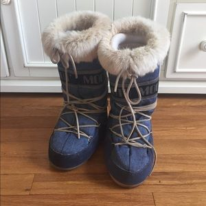 Moon Boot Shoes - Fur moon boots