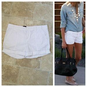 NEW Calvin Klein Jeans White Shorts
