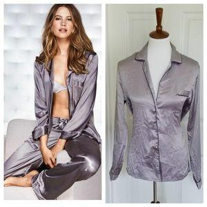 Victoria's Secret Grey Pajama Set