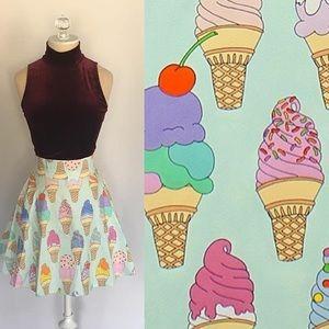 ModCloth Dresses & Skirts - I scream for ice cream skirt