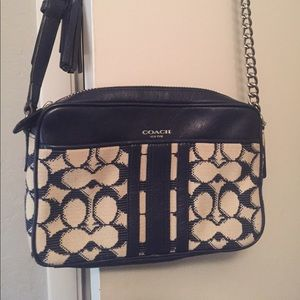 Coach Handbags - Blue Coach bag!!!