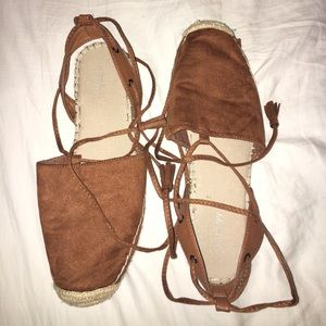 old navy lace up espadrilles
