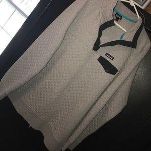 Half zip sweatshirt. Patagonia brand.